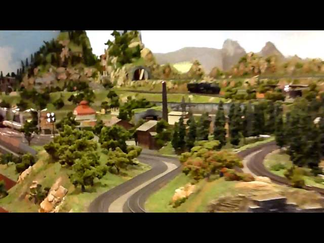 HO scale model train