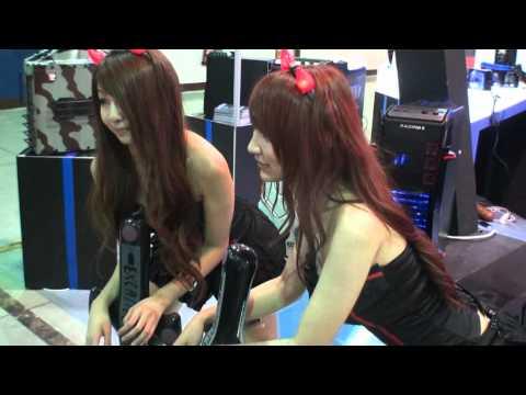 TweakTown Computex Taipei 2011 HD booth babes