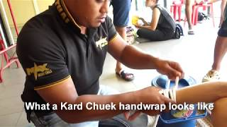 Kard Chuek Wraps - How They Are Done