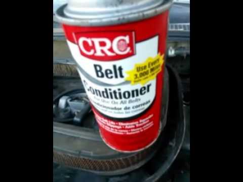 Belt conditioner demo part 1