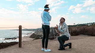 HOW OUR ENGAGEMENT ACTUALLY HAPPENED!! OUR PROPOSAL