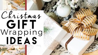 DIY Christmas Decorations | Bows | Christmas Gift Wrap Ideas