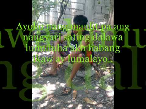 Lyrics bakit mo ako iniwan by loraine mhyre and songs ...