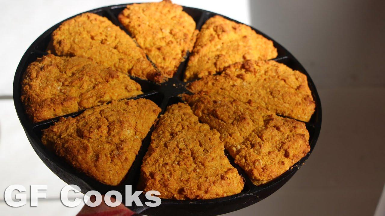 Pumpkin Cornbread Recipe - GardenFork Cooks - YouTube