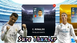 Black Ball Trick - Legends Italian Clubs Box Draw || Sure Thunder 🤗 || PES 19 Mobile ||
