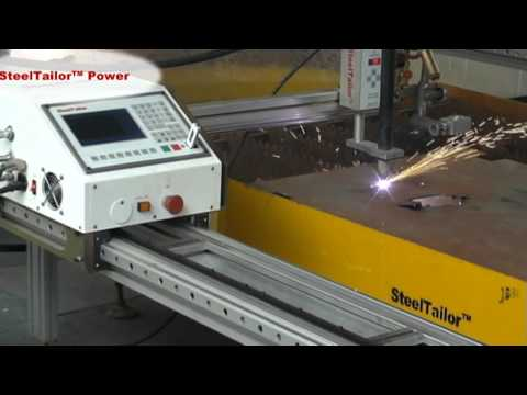 SteelTailor Power Portable cnc cutting machines.avi