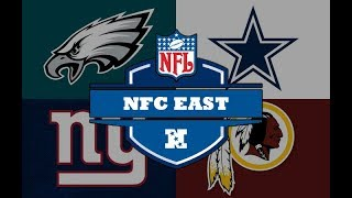NFC East is a mess! Could this be the third time ever a team wins a division with a losing record?