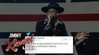 Leon Bridges Sings Donald Trump 39 S Tweets