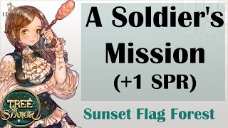 [ TREE OF SAVIOR ] Sunset Flag Forest (Level 123) : A Soldier