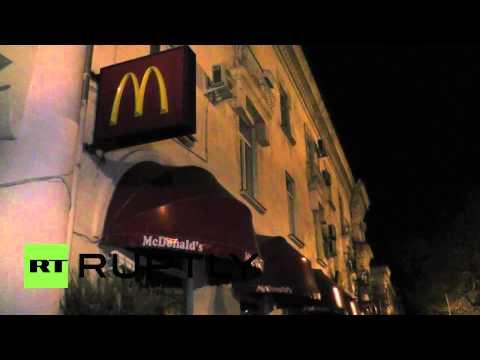 Russia: Big Macs off the menu in Sevastopol as McDonald's suspends work