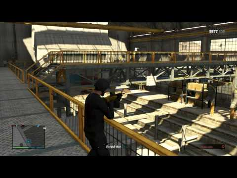 GTA Online Missions with Randoms Dry Docking 2-22-15