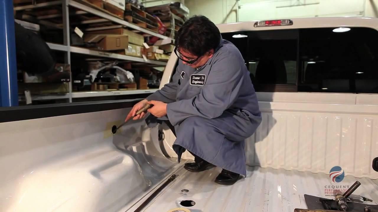 Installing A Bargman 7-way 90 U00b0 Wiring Harness 50-97-410 In A Pickup Truck