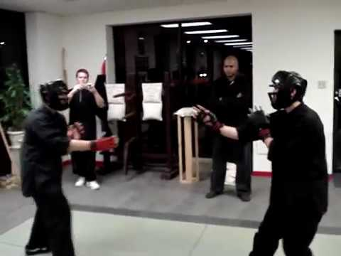 Basic Wing Chun sparring Image 1
