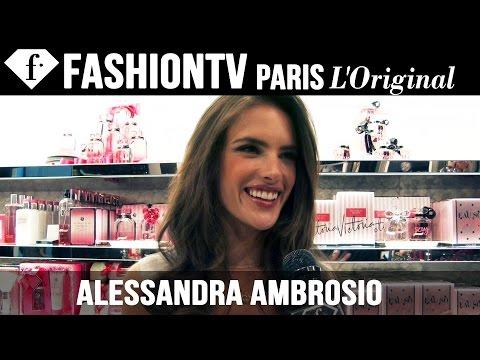 Victoria's Secret Fashion Show 2014-2015: Alessandra Ambrosio Exclusive Interview | Fashiontv video