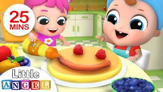 Yum Yum Breakfast | Breakfast Song | Nursery Rhymes by Little Angel