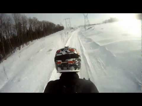 Canada Snowmobiling GoPro 2013