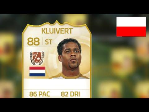 FIFA 15 Ultimate Team - Patrick Kluivert recenzja PL
