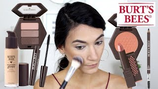 BRAND NEW Burts Bees Makeup: First Impression, Swatches, Wear Test