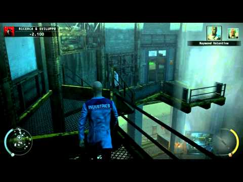 Hitman Absolution Gameplay Ita PC Parte 23 - Laboratorio Sotterraneo -