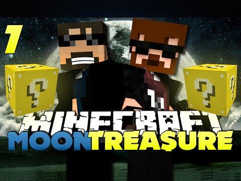 Minecraft Modded Moon Race 7 - LUCKY BLOCK JUDGES