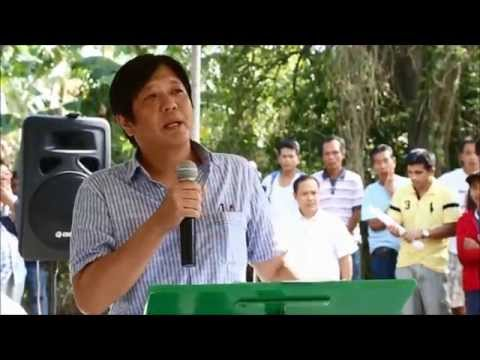 Sen. Bongbong Marcos - Inauguration of Farm to Market Road Brgy. Bukal, Tianong, Quezon 01-Mar-2014