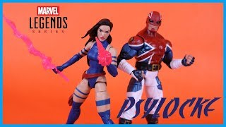 Marvel Legends Apocalypse Wave PSYLOCKE Action Figure Toy Review