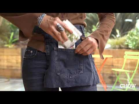 How to Recycle Jeans into a Garden Apron - CHOW Tip