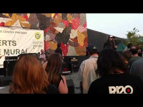 Stone Gossard Shredding w/Brad live 8.10.12 @ Seattle Center