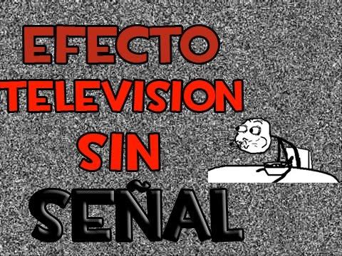 Efecto De Television Sin Señal #1
