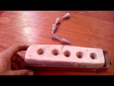 рыбалка формы для литья из свинца