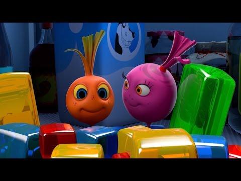 Прикольный мультик «Овощная вечеринка» - Кубики желе (66 серия)
