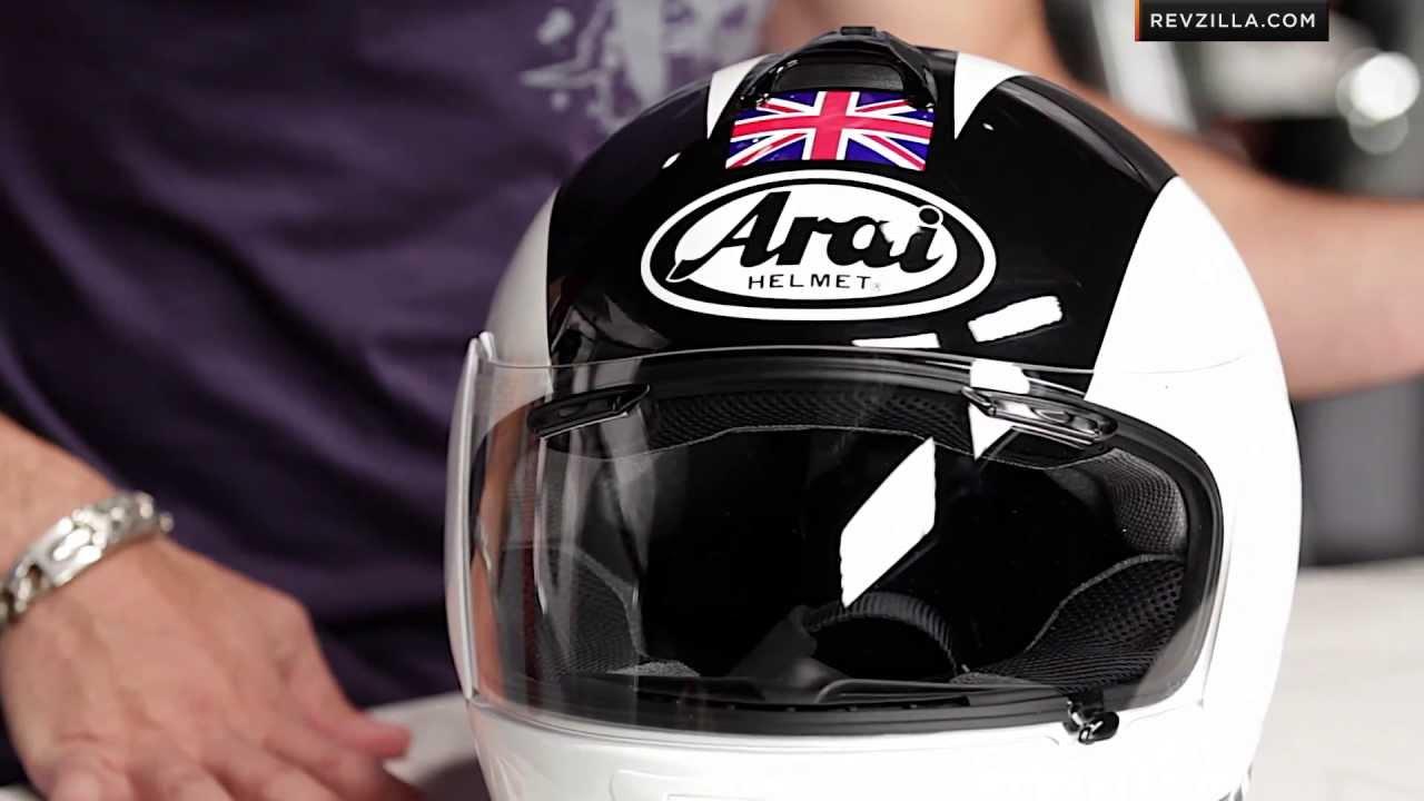 Arai Vector 2 Phil Read Helmet Review at RevZilla.com - YouTube
