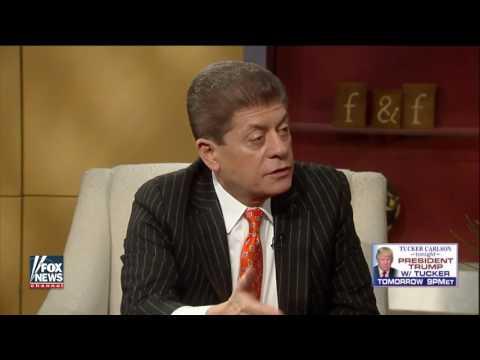 President Obama went to British intelligence to spy on Trump for him! - Judge Napolitano