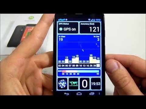 Motorola Moto G -  Test de GPS y Sensores  HD