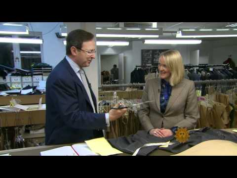 CBS News Sunday Morning - The Mecca of men's tailoring