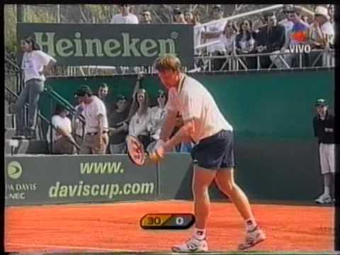 FRANCO SQUILLARI - COPA DAVIS VS BIELORUSIA 2001