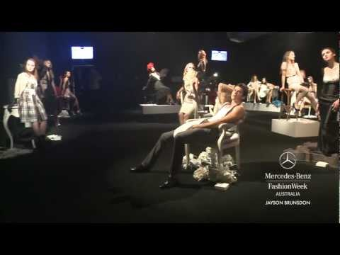JAYSON BRUNSDON - MERCEDES-BENZ FASHION WEEK AUSTRALIA SPRING SUMMER 2012/13 COLLECTIONS