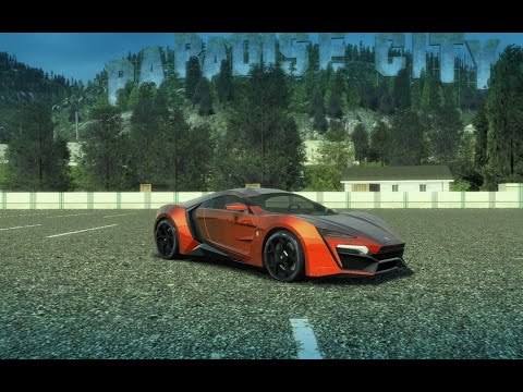 Burnout Paradise: Lykan Hypersport