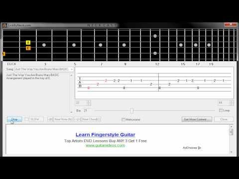 Just The Way You Are - Bruno Mars  Guitar/Kytara Tutorial