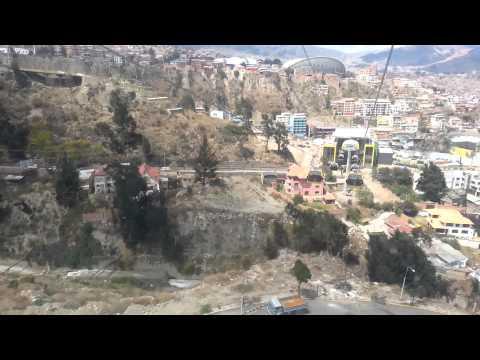 Teleferico linea amarilla La Paz Bolivia