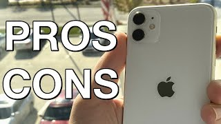 iPhone 11 Pros and Cons after 1 Month!