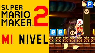 YOUTUBERS/STREAMERS sufren MI NIVEL TROLL [Super Mario Maker 2]