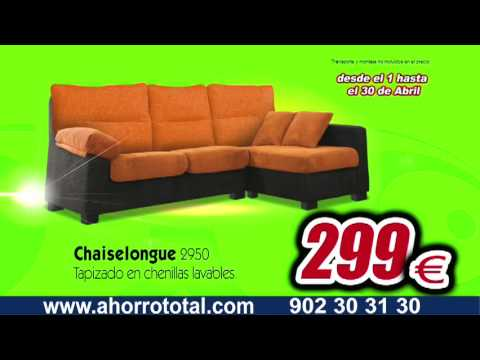 Ahorro total muebles nadie vende m s barato abril youtube for Ahorro total vallecas