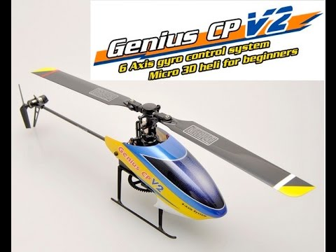WWW.RTF-HELI.COM - REVIEW WALKERA GENIUS CP V2 FLYBARLESS R/C HELICOPTER