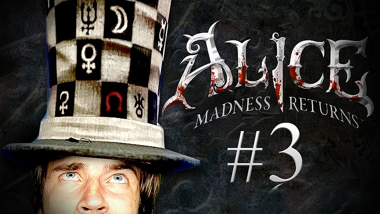 Pewdiepie plays Alice: The Madness Returns - Part 3