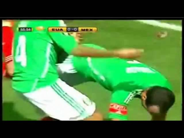 Mexico 5 vs USA 0  mexico gold cup champions (copa oro) HD televisa