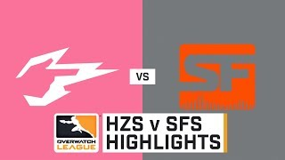 HIGHLIGHTS Hangzhou Spark l vs. San Francisco Shock | Stage 2 | Week 3 | Day 4 | Overwatch League
