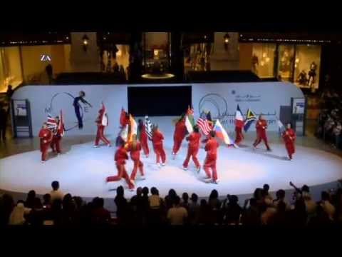 Sharmila Dance - Dubai Shopping Festival 2012 - Mall Of The Emirates