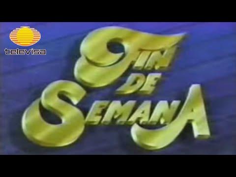 1987. De mi cosecha: Televisa. Programa