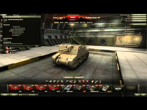 World of Tanks - Patch 8.5 Preview - Sexton Tier 3 Premium SPG.